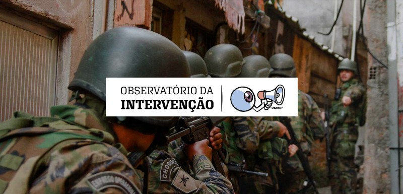 Site do Observatório da Intervenção